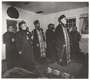 8. At the Chapel of Sts Sergius & Herman of Valaam on Spruce Island