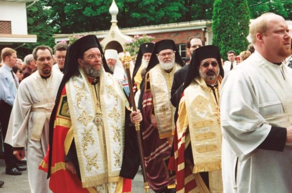 5. Vigil - Antiochian Bishops Basil of Enfeh Al-Koura (and Wichita) and Demetri of Jableh (and Toledo)