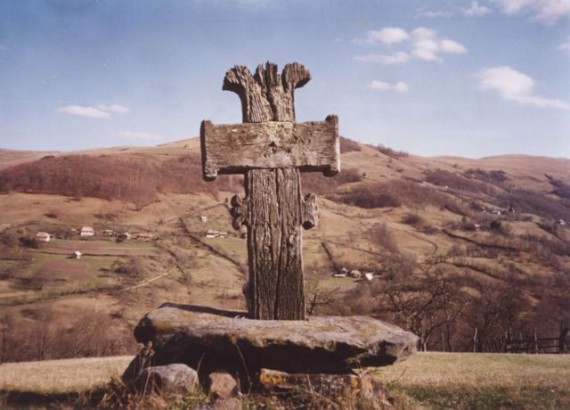 Wooden Cross (hill) - 'Valea Larga' village