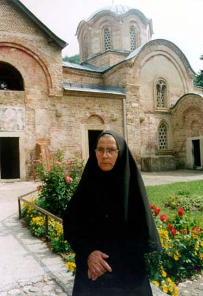 Abbess Fevronia of the Patriarchate Monastery, Serbia